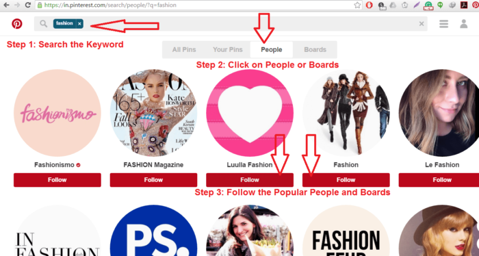 pinterest-guide-Search and Follow