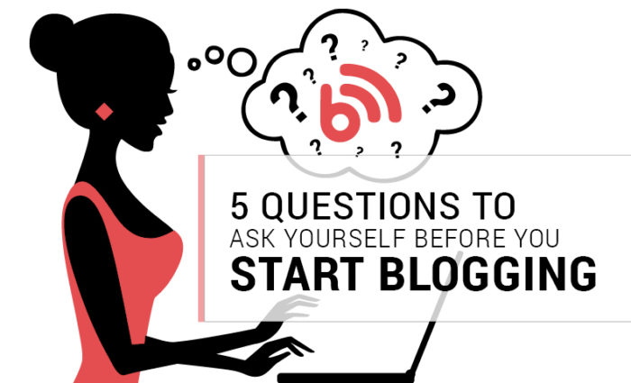 Questions to Ask Yourself Before Starting Your blog