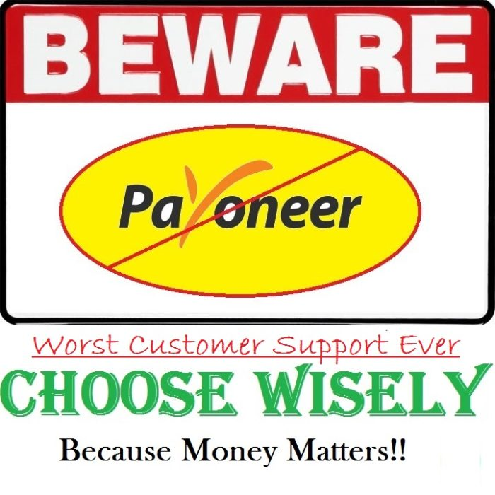 Beware of Payoneer Customer Support Scam