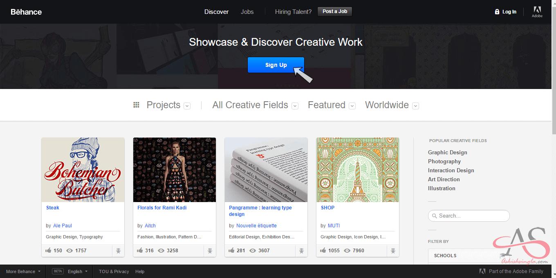 behance web 2.0 - 1