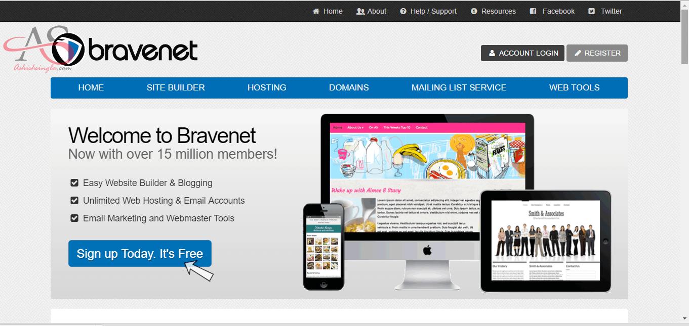 web 2.0 bravenet - 1