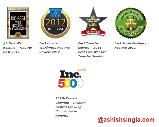hostgator-awards