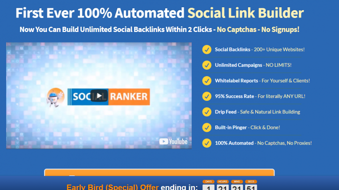 Social Ranker Review