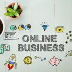 Online Business concept